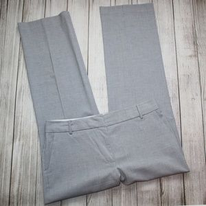 TALBOTS Size 12 Gray Dress Pants HERITAGE Fit